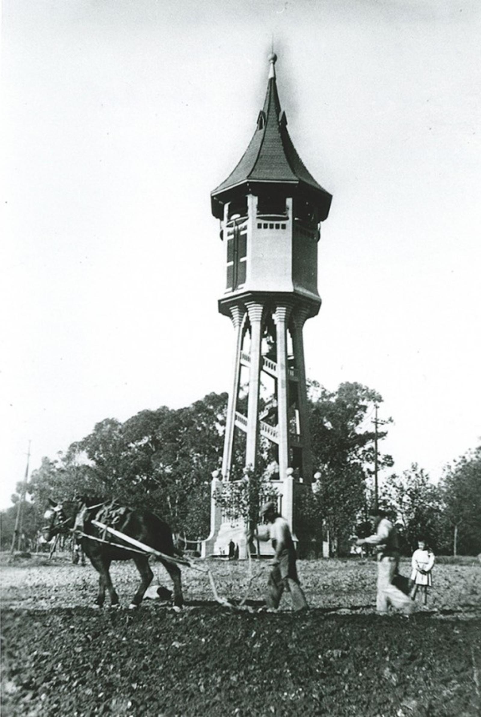 100 años de la Torre de l'Aigua